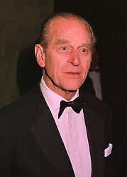 HRH THE DUKE OF EDINBURGH  at a dinner in London on 26th February 1998.<br /> MFT 72