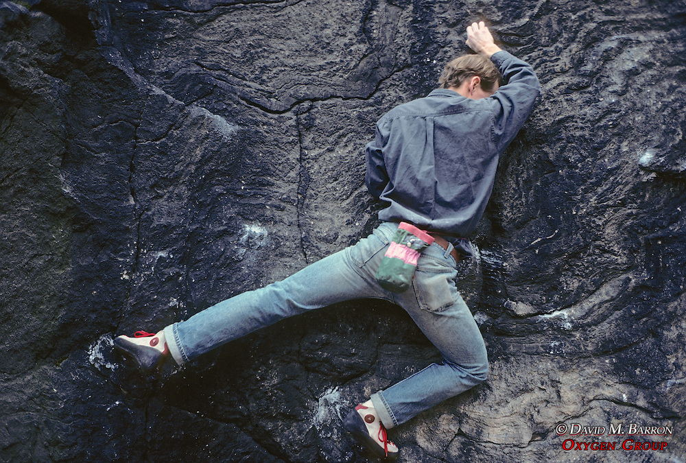 Rock Climbing In Central Park