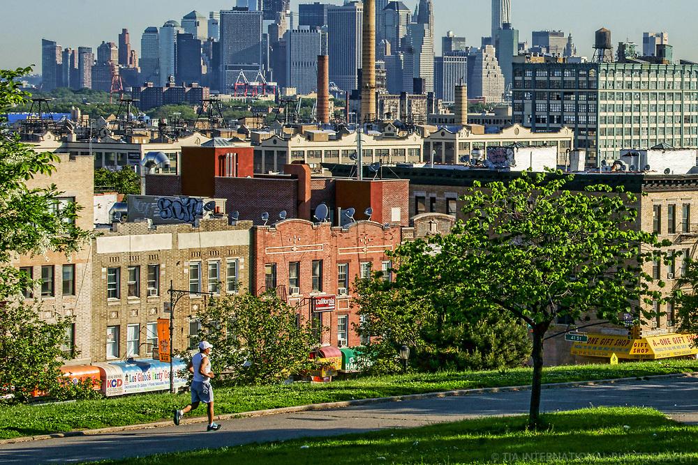 Jogger @ Sunset Park, Brooklyn