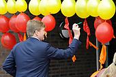 Koning Willem Alexander opent nieuw schoolgebouw Bartimeus