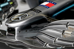 March 30, 2019 - Sakhir, Bahrain - Motorsports: FIA Formula One World Championship 2019, Grand Prix of Bahrain, ..Technical detail, Mercedes AMG Petronas Motorsport, front wing  (Credit Image: © Hoch Zwei via ZUMA Wire)