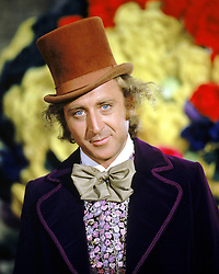 GENE WILDER, (born Jerome Silberman, June 11, 1933 - August 28, 2016) was an American stage and screen comic actor, screenwriter, film director, and author. He was known best for the lead role in the 1971 film 'Willy Wonka in Willy Wonka & the Chocolate Factory,' and the Mel Brooks comedies 'Blazing Saddles', and 'Young Frankenstein', which Wilder co-wrote, garnering the pair an Academy Award nomination for Best Adapted Screenplay. Wilder died at age 83 from complications from Alzheimer's disease. PICTURED: GENE WILDER as Willy Wonka, in a scene from the 1971 film 'Willy Wonka and the Chocolate Factory,' based on the children's classic by Roald Dahl. (Credit Image: © Courtesy of ABC Family/Entertainment Pictures/ZUMAPRESS.com)