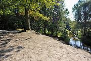 Nederland, Losser, 4-9-2012Hoek over Losser in Twente. Riviertje de Dinkel bij het Lutterzand. Dinkelland.Foto: Flip Franssen/Hollandse Hoogte