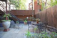 Garden Patio at 57 West 88th Street