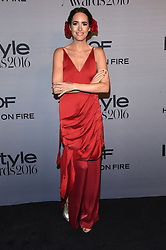 October 24, 2016 - Los Angeles, California, U.S. - Louise Roe arrives for the InStyle Awards 2016 at the Getty Center. (Credit Image: © Lisa O'Connor via ZUMA Wire)
