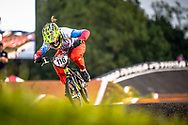 #116 (AFREMOVA Natalia) RUS Chase at Round 7 of the 2019 UCI BMX Supercross World Cup in Rock Hill, USA