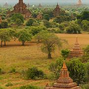 The pagodas of Bagan