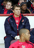 Fotball<br /> England 2004/2005<br /> Foto: SBI/Digitalsport<br /> NORWAY ONLY<br /> <br /> Arsenal v Birmingham<br /> The Barclays Premiership<br /> Arsenal Stadium.<br /> 04/12/2004<br /> <br /> Jens Lehmann