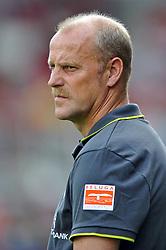 14.08.2010, Wersestadion, Ahlen, GER, Rot Weiss Ahlen vs Werder Bremen 0:4, DFB Pokal 1. Runde,  1. FBL 2010, im Bild Thomas Schaaf ( Werder  - Trainer  COACH ). EXPA Pictures © 2010, PhotoCredit: EXPA/ nph/  Kurth+++++ ATTENTION - OUT OF GER +++++ / SPORTIDA PHOTO AGENCY