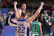 DESCRIZIONE : Cantu' campionato serie A 2013/14 Acqua Vitasnella Cantu' Montepaschi Siena<br /> GIOCATORE : Stefano Gentile<br /> CATEGORIA : esultanza<br /> SQUADRA : Acqua Vitasnella Cantu'<br /> EVENTO : Campionato serie A 2013/14<br /> GARA : Acqua Vitasnella Cantu' Montepaschi Siena<br /> DATA : 24/11/2013<br /> SPORT : Pallacanestro <br /> AUTORE : Agenzia Ciamillo-Castoria/R.Morgano<br /> Galleria : Lega Basket A 2013-2014  <br /> Fotonotizia : Cantu' campionato serie A 2013/14 Acqua Vitasnella Cantu' Montepaschi Siena<br /> Predefinita :