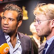 NLD/Utrecht/20160922 - inloop NFF 2016 - première Riphagen, Edwin Jonker en Leo Alkemade