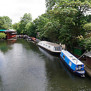 The Regent's Canal is a canal to the north of central London. The canal is frequently used today for pleasure cruising; a regular waterbus service operates between Maida Vale and Camden, running hourly during the summer months.