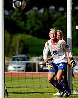 Fotball<br /> 4. September 2010<br /> Toppserien<br /> Arna Idrettspark<br /> Arna Bjørnar v Stabæk 7 - 0<br /> Reidun Seth , Arna-Bjørnar ser ballen gå i nettet<br /> Foto: Astrid M. Nordhaug