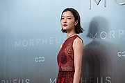 Du Juan, Chinese supermodel, poses for photographers on the red carpet, during Melco Morpheus building Opening in Macau, China, on 15 June 2018. Photo by Lucas Schifres