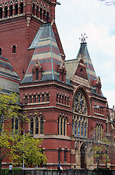 Apr 24, 2017 - Cambridge, Massachusetts, U.S. - Harvard University is a private Ivy League research university in Cambridge, Massachusetts, established in 1636, whose history, influence, and wealth have made it one of the world's most prestigious universities. Pictured: Memorial Hall (completed 1878) stands as one of Harvard's most iconic buildings and is even a National Historic Landmark. (Credit Image: © Katrina Kochneva via ZUMA Wire)