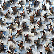 Performers moved in unison inside the Beijing Olympic Stadium during the Opening Ceremonies of 2008 Summer Olympic Games in Beijing, China. (photo by David Eulitt / MCT)