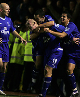 Fotball<br /> FA Cup England 2004/2005<br /> 3. runde<br /> 08.01.2005<br /> Foto: SBI/Digitalsport<br /> NORWAY ONLY<br /> <br /> Plymouth Argyle v Everton<br /> <br /> Everton's Nick Chadwick celebrates the winning goal.