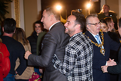 Anthony 'Ant' McPartlin and David Walliams attending the Britain's Got Talent auditions at the Blackpool Opera House, Blackpool. Picture date: Tuesday January 16th, 2018. Photo credit should read: Matt Crossick/ EMPICS Entertainment.