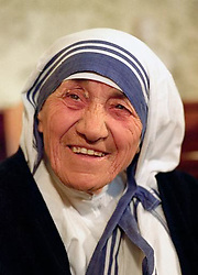 5TH SEPTEMBER: Mother Teresa dies on this day in 1997.  * 05/09/1997 Mother Teresa who, according to reports of BBC Radio Five Live this evening, died earlier today.  The 87-year-old, regard by millions as a living saint for her work with the poor, died of a heart attack, according to the reports. See PA story DEATH Teresa.  Photo by Chris Bacon/PA