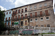 The old town of Sao Luis is run down in some parts, state capital of Maranhao in Northeastern Brazil, 10th May 2014.