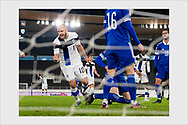 1-1 goal by Teemu Pukki. Finland - Bosnia and Herzegovina. World Cup qualification. Helsinki, March 24, 2021.
