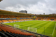 General view inside Molineux stadium ahead of the The FA Cup match between Wolverhampton Wanderers and Manchester United at Molineux, Wolverhampton, England on 16 March 2019.