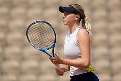 May 23, 2019 - Paris, FRANCE - Amanda Anisimova of the United States during practice at the 2019 Roland Garros Grand Slam tennis tournament (Credit Image: © AFP7 via ZUMA Wire)