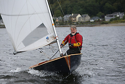 Marine Blast Regatta 2013 - Holy Loch SC<br /> <br /> Mr Happy, Solo, 2889, Micheal Lidwell<br /> <br /> Credit: Marc Turner / PFM Pictures