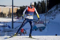 March 2, 2018 - Lahti, FINLAND - 180302 Emil Jönsson of Sweden during a training session ahead of the FIS Cross-Country World Cup on March 02, 2018 in Lahti. .Photo: Fredrik Varfjell / BILDBYRÃ…N / kod FV / 150068 (Credit Image: © Fredrik Varfjell/Bildbyran via ZUMA Press)