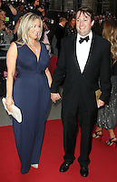 Victoria Coren Mitchell, David Mitchell, GQ Men of the Year Awards 2015, Royal Opera House Covent Garden, London UK, 08 September 2015, Photo by Richard Goldschmidt