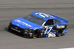 March 1, 2019 - Las Vegas, NV, U.S. - LAS VEGAS, NV - MARCH 01: Ricky Stenhouse Jr (17) Roush Fenway Racing Ford Mustang GT drives through turn four during practice for the Monster Energy NASCAR Cup Series 22nd Annual Pennzoil 400 on March 1, 2019, at the Las Vegas Motor Speedway in Las Vegas, Nevada. (Photo by Michael Allio/Icon Sportswire) (Credit Image: © Michael Allio/Icon SMI via ZUMA Press)