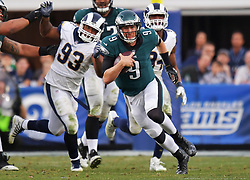 The Philadelphia Eagles beat the Los Angeles Rams 43-35 at Los Angeles Memorial Coliseum on December 10, 2017 in Los Angeles, California.  (Photo by Drew Hallowell/Philadelphia Eagles)