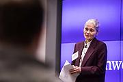 Northwestern University's Kellogg School of Management hosts their SF Imersion Fintech Panel discussion in San Francisco, California, on January 23, 2019. (Stan Olszewski/SOSKIphoto)