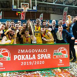 20200216: SLO, Basketball - Pokal Spar Finale, Cedevita Olimpija vs Koper Primorska