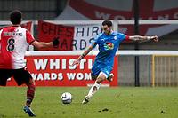 Liam Hogan. Woking FC 1-4 Stockport County FC. Vanarama National League. KIngfield Stadium. 30.1.21