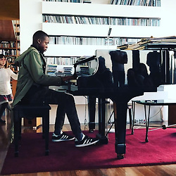 """Madonna releases a photo on Instagram with the following caption: """"Afternoon Recital............. David plays a family favorite! \ud83d\udda4\ud83c\udfb5\ud83d\udda4\ud83c\udfb6\ud83d\udda4\ud83c\udfb9\ud83d\udda4\ud83c\udfa4@eltonjohn @itsjeremyscott @adidasoriginals #music #family #sing #play #love\u2665\ufe0f"""". Photo Credit: Instagram *** No USA Distribution *** For Editorial Use Only *** Not to be Published in Books or Photo Books ***  Please note: Fees charged by the agency are for the agency's services only, and do not, nor are they intended to, convey to the user any ownership of Copyright or License in the material. The agency does not claim any ownership including but not limited to Copyright or License in the attached material. By publishing this material you expressly agree to indemnify and to hold the agency and its directors, shareholders and employees harmless from any loss, claims, damages, demands, expenses (including legal fees), or any causes of action or allegation against the agency arising out of or connected in any way with publication of the material."""