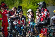 #49 (TUCHSCHERER Daina) CAN during practice of Round 3 at the 2018 UCI BMX Superscross World Cup in Papendal, The Netherlands