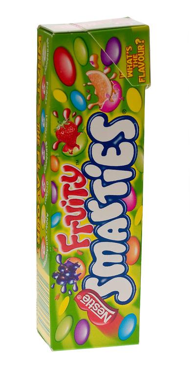 Packet of Fruity Smarties