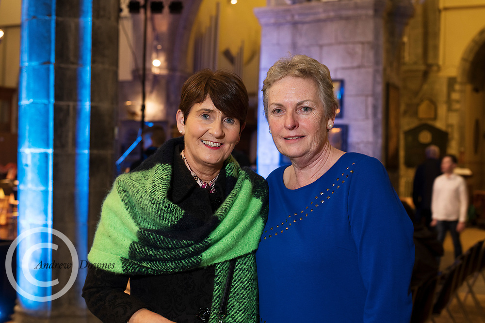 15/12/2019 repro free: Geraldine Cawley Shrule Sheila Geraghty Shrule at the Galway Traditional Orchestra Christmas Concert in St Nicholas's. Photo:Andrew Downes, xposure.ie