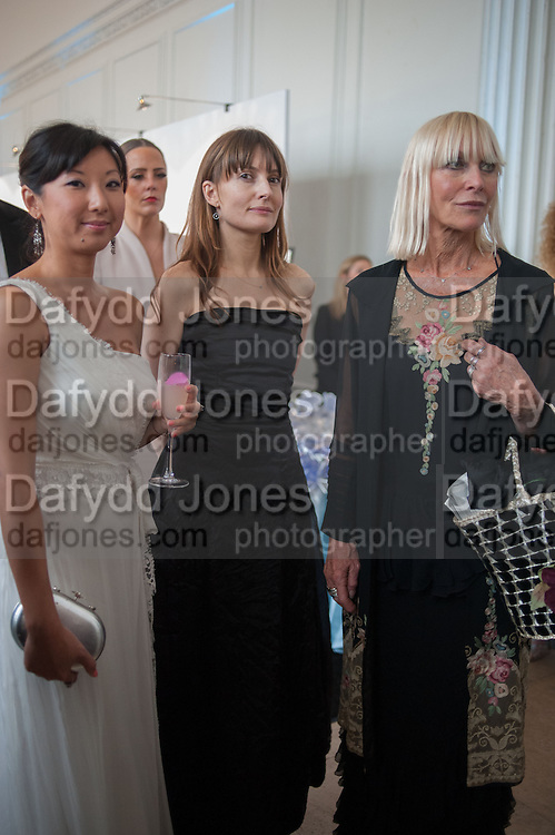 BEATRICE ONG; DAISY BATES; VIRGINIA BATES, English National Ballet  evening of art, ballet and live performance inspired by Swan Lake, The Orangery, Kensington Palace London.  27 June 2012
