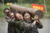 New Flight Attendants Take Military Training