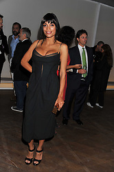 ROSARIO DAWSON at a dinner hosted by Calvin Klein Collection to celebrate the future Home of The Design Museum at The Commonwealth Institute, Kensington, London on 13th October 2011.