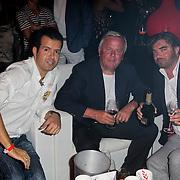 NLD/Noordwijk/20120824 - Uitreiking Jackie's Best Dressed Award 2012, Varol, Harry Mens en Eddy van Heel