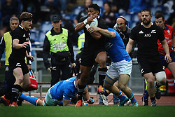 November 24, 2018 - Roma, RM, Italy - Waisake Naholo of All Blacks during the Cattolica Test Match 2018 between Italy and All Blacks at Olympic Stadium on November 24, 2018 in Rome, Italy. (Credit Image: © Danilo Di Giovanni/NurPhoto via ZUMA Press)