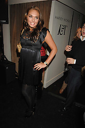 TAMARA ECCLESTONE at a party to celebrate the launch of the Kova & T fashion label and to re-launch the Harvey Nichols Fifth Floor Bar, held at harvey Nichols, Knightsbridge, London on 22nd November 2007.<br />