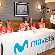 © Maria Muina I SailingShots.es: Reto Campeonas Movistar, charla en el Marítimo de Santander.