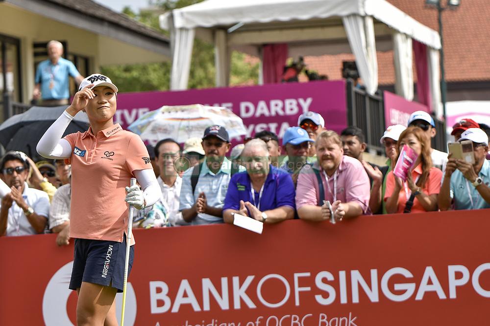 October 26, 2017 - Kuala Lumpur, Malaysia - Lydia Ko of New Zealand during day one of the Sime Darby LPGA Malaysia at TPC Kuala Lumpur on October 26, 2017 in Kuala Lumpur, Malaysia  (Credit Image: © Chris Jung/NurPhoto via ZUMA Press)