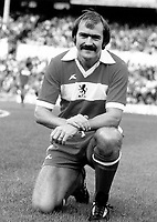 Terry Cooper - Middlesbrough. Tottenham Hotspur v Middlesbrough 28/8/76. Credit: Colorsport