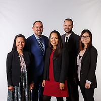 Corporate group portraits for use on the company website and marketing collateral, as well as for LinkedIn and other social media marketing profiles.<br /> <br /> ©2019, Sean Phillips<br /> http://www.RiverwoodPhotography.com