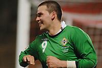 Fotball<br /> Liechtenstein v Nord Irland<br /> 24.03.2007<br /> Foto: Gepa/Digitalsport<br /> NORWAY ONLY<br /> <br /> David Healy (NIR)